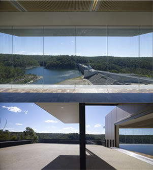 warragamba dam visitor centre finished